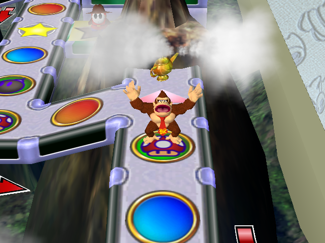 Paper Bowser World 3 Mario Party 4 - ...