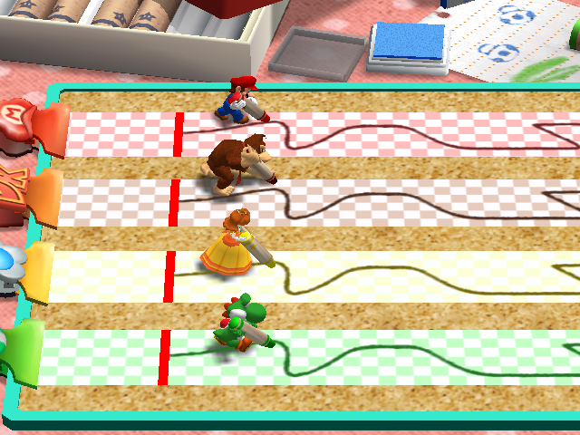 Mario Party 4 Trace Race