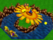 Coin Shower Flower - Mario Party 1