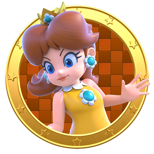 Daisy - Mario Party Legacy