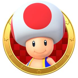 Characters on Hammer Mario Color By Number