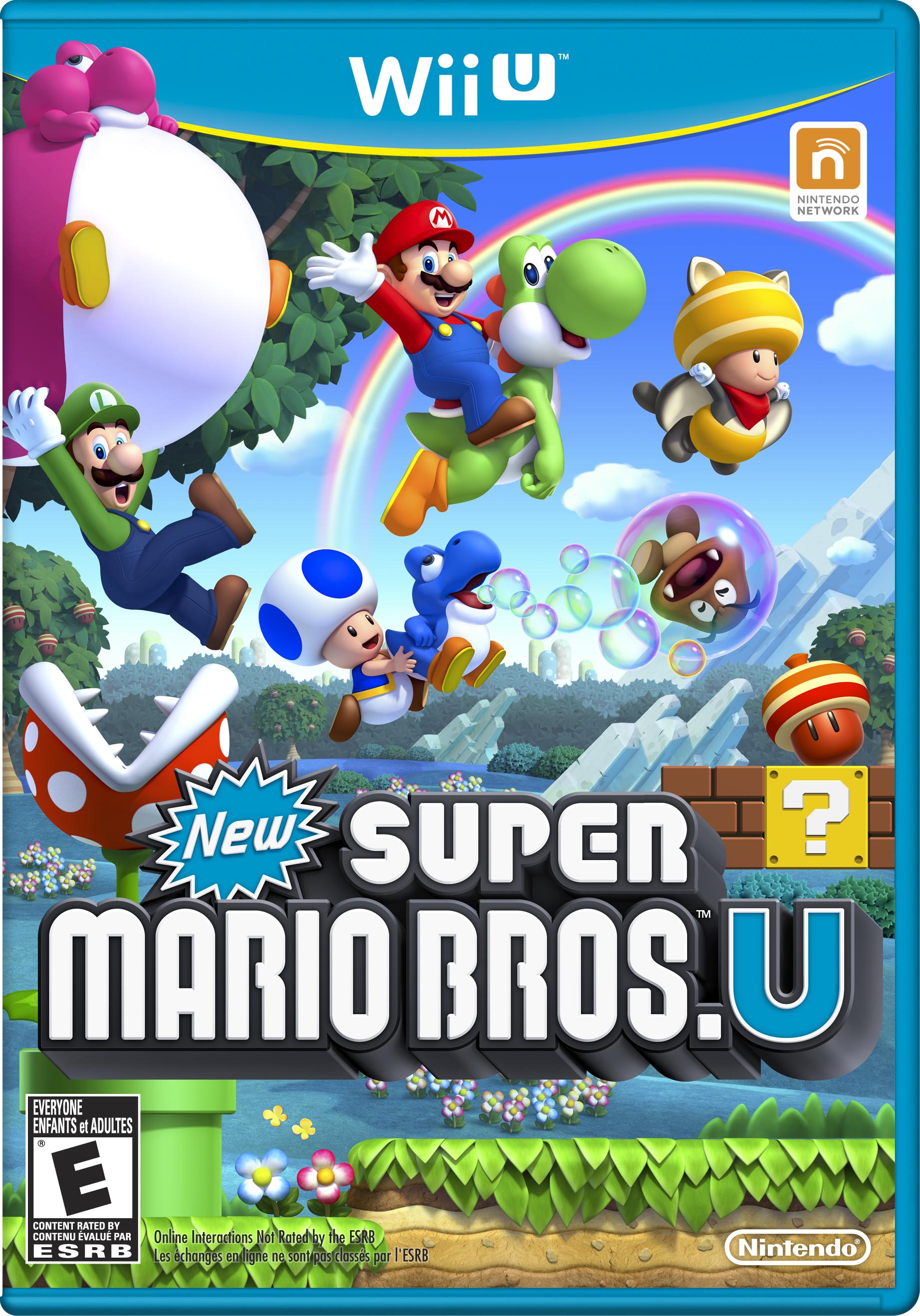 New Super Mario Bros U Mario Party Legacy