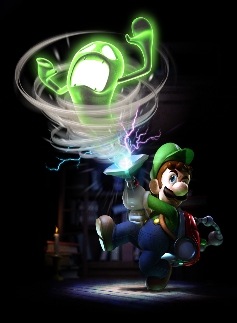 Luigi S Mansion Dark Moon Mario Party Legacy
