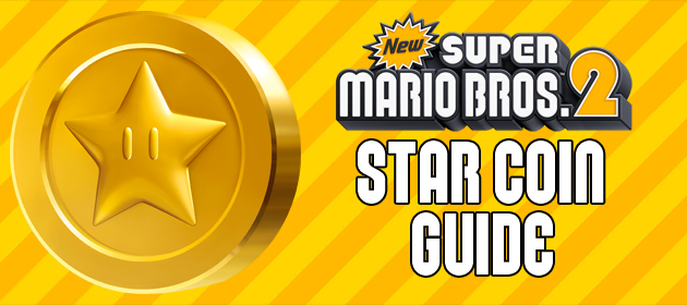 Star Coin Guide – New Super Mario Bros. 2