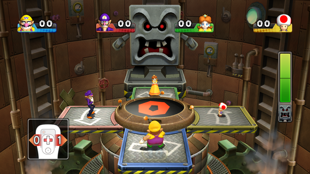 Image result for whomp stomp mario party 9