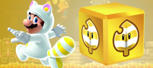 Details On The Invincibility Leaf In New Super Mario Bros