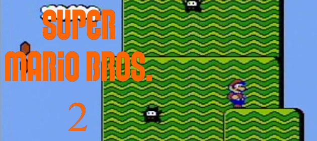Super Mario Bros  2: The Taboo of the Mario series - Mario