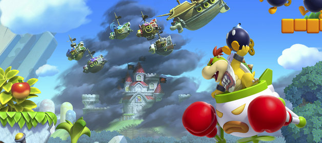 Screens And Art For New Super Mario Bros U Mario Party Legacy