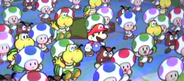 First 34 Minutes Of Paper Mario Sticker Star