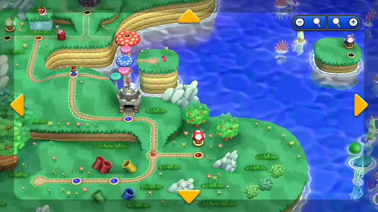 tons of new footage including more of the world map mario party legacy