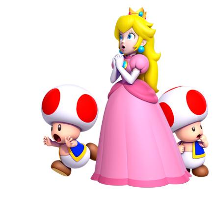 New Super Mario Bros  U Official Site Opens, New Art - Mario