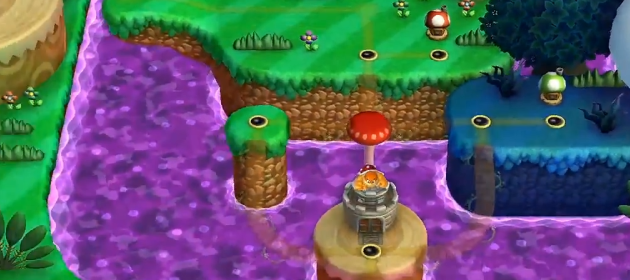 entire world map revealed for new super mario bros u mario party