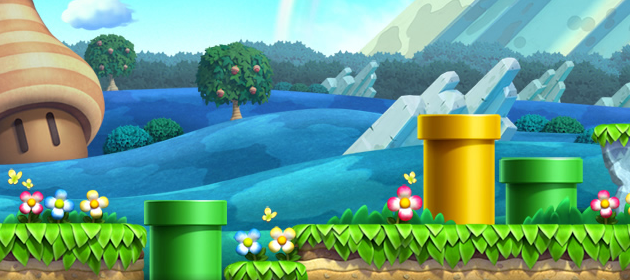view the world map of new super mario bros u mario party legacy