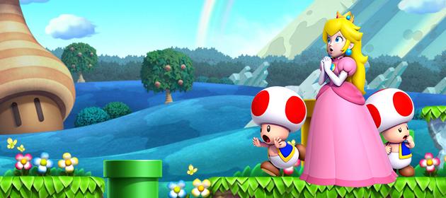 First Look At Final World Of New Super Mario Bros U Mario Party