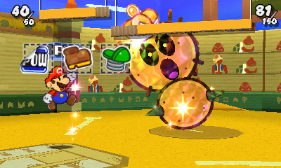 paper mario sticker star how to turn things into stickers