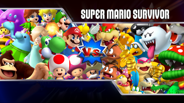 Super Mario Survivor 4 Mario Kart Wii Playable Characters Mario Party Legacy