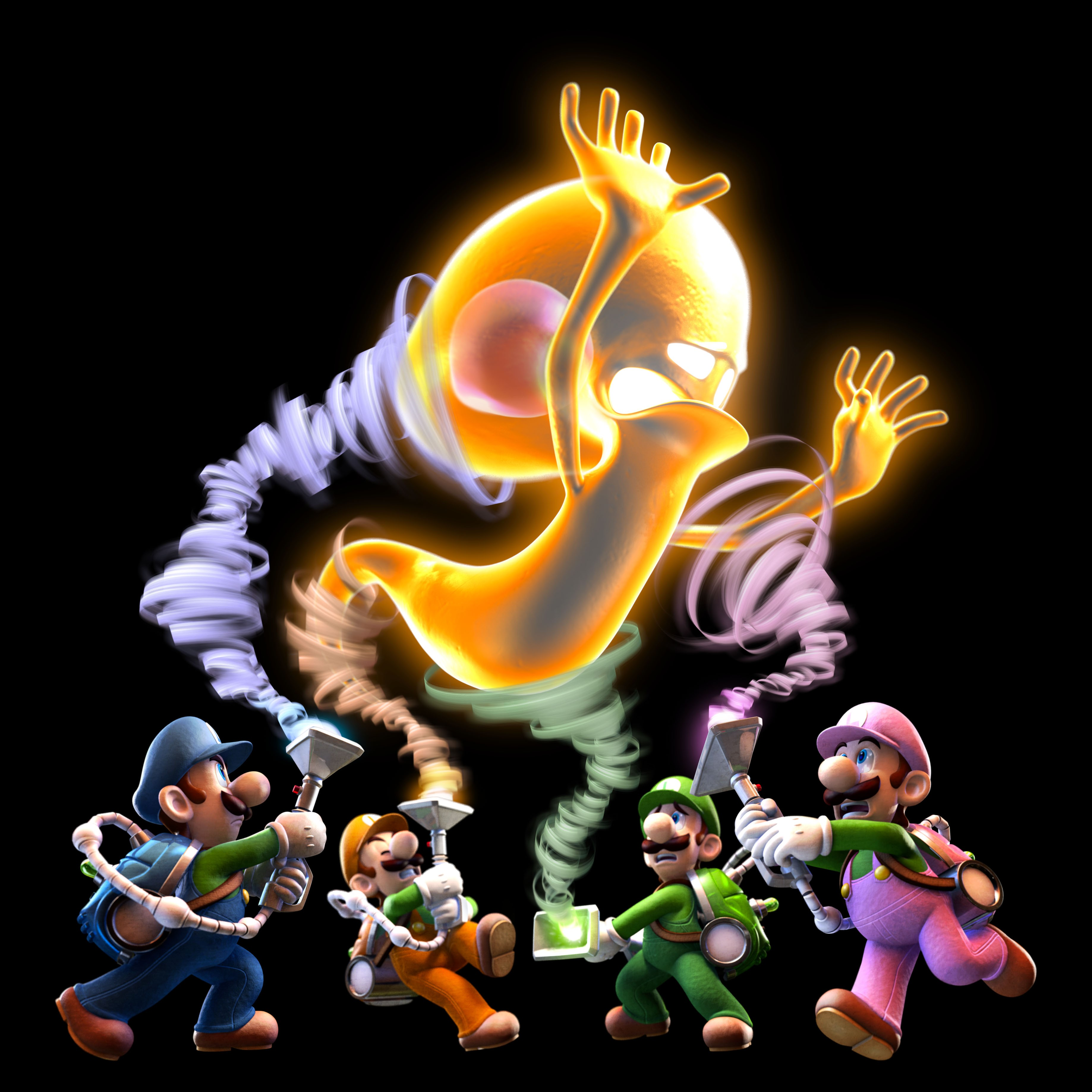 Newest Batch Of Luigi S Mansion Dark Moon Art Mario Party
