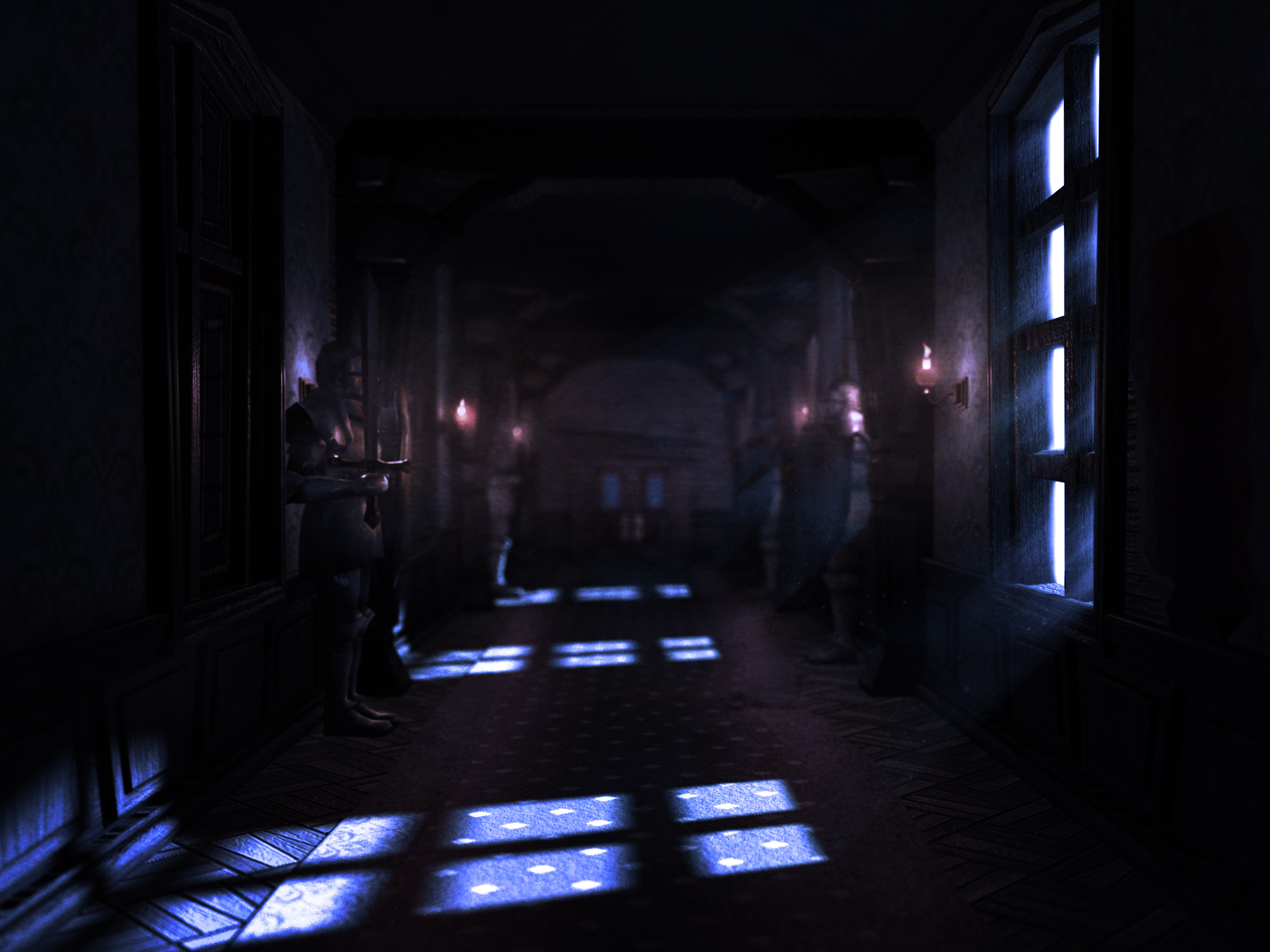 Luigi S Mansion Dark Room