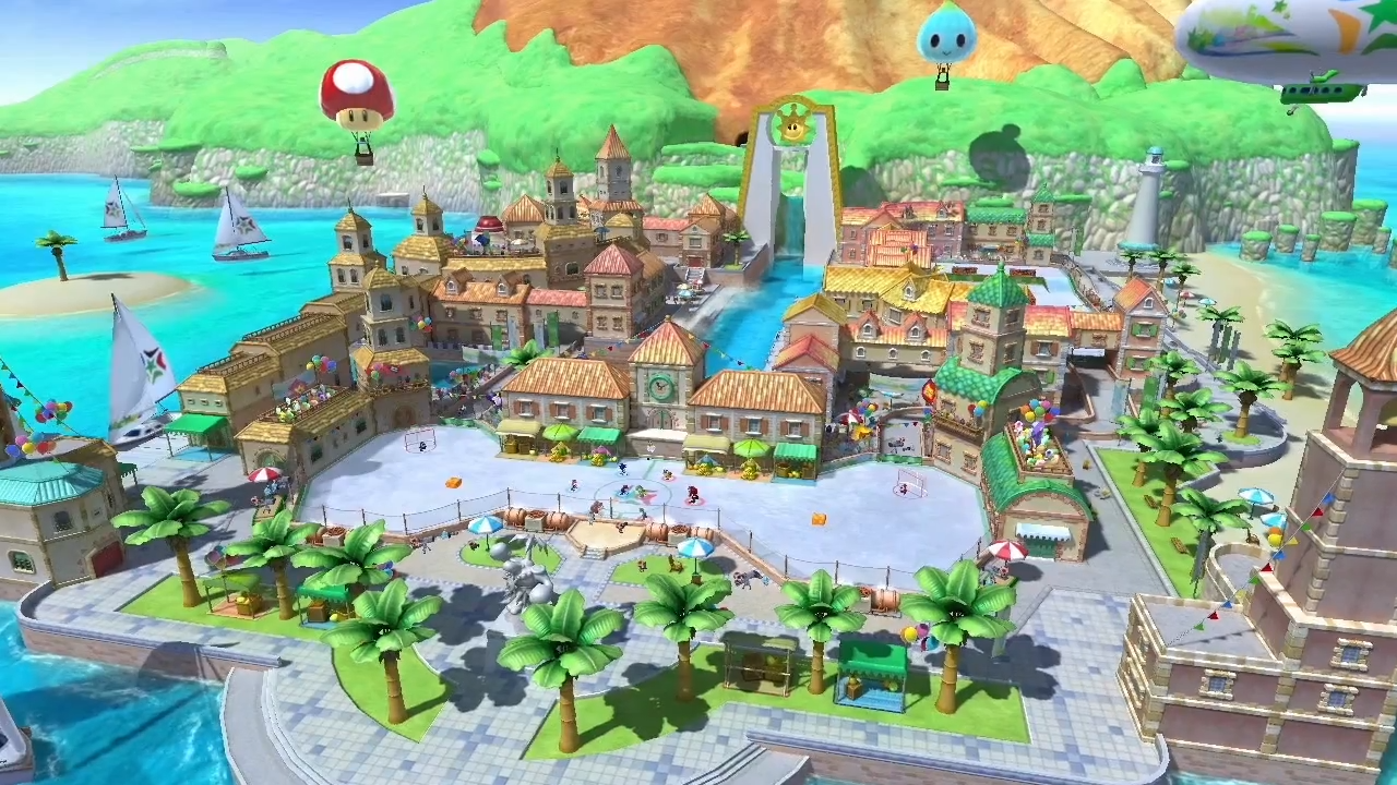 Mario & Sonic at the Sochi 2014 Olympic Games Wii U - Gameplay Footage