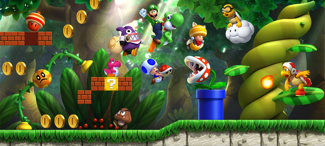 New Art And Screens For New Super Luigi U Mario Party Legacy