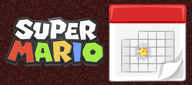 Super Mario - Schedule Slide