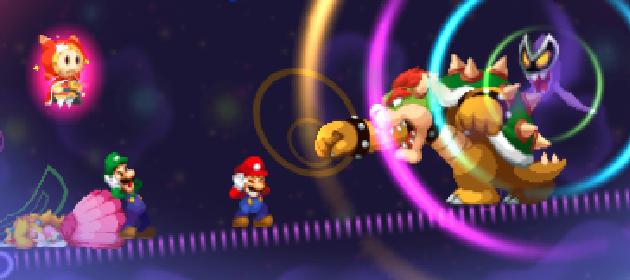 The Latest Screens For Mario Luigi Dream Team Mario