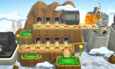 Paper Bowser World 3 Mario Party: Isl...