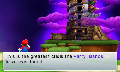 Mario Party Island Tour Bowser Tower  Players