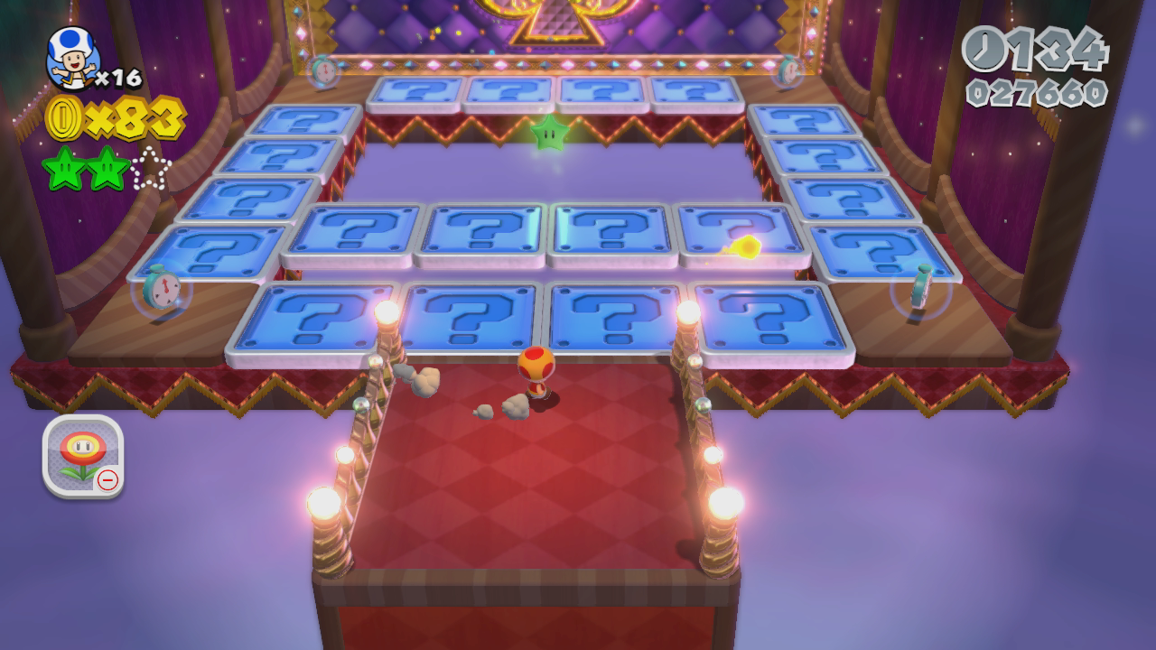 World 1 5 Switch Scramble Circus Super Mario 3d World