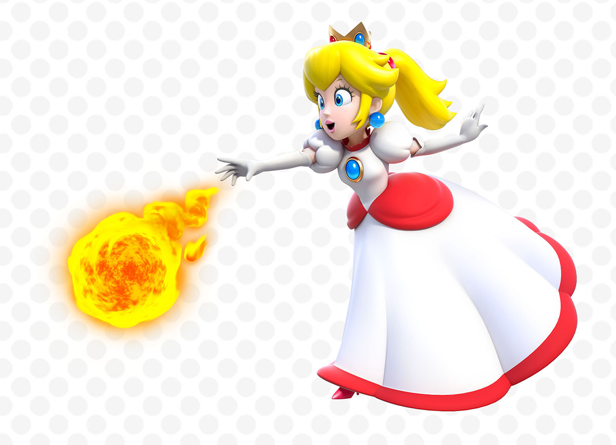 New Official Art For Super Mario 3D World