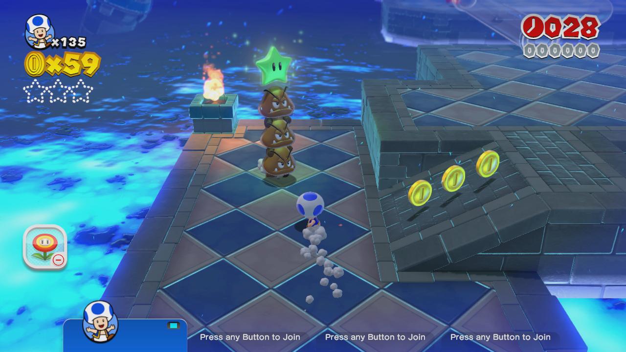 World Flower-4: Faster Fort Fire Bros  – Super Mario 3D