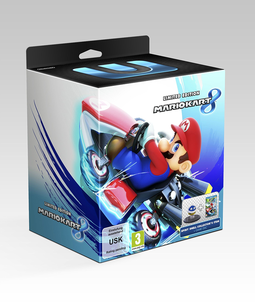 Mario kart 8 limited edition coming to europe australia mario party legacy - Mario kart 8 console bundle ...