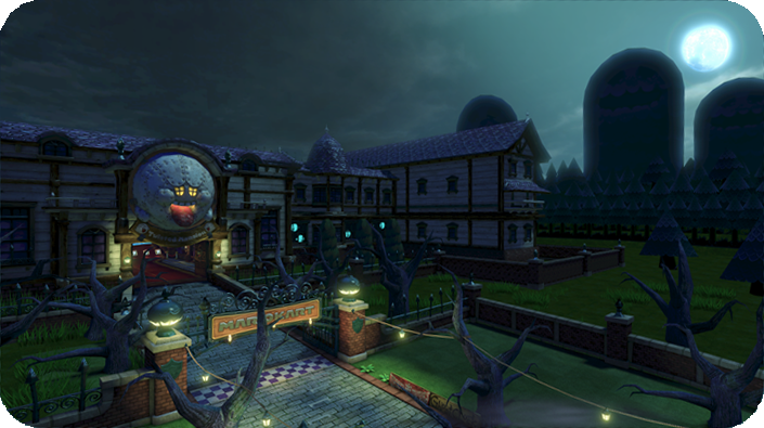 Mario kart 8 39 s ghost house track gets official name new for House of tracks