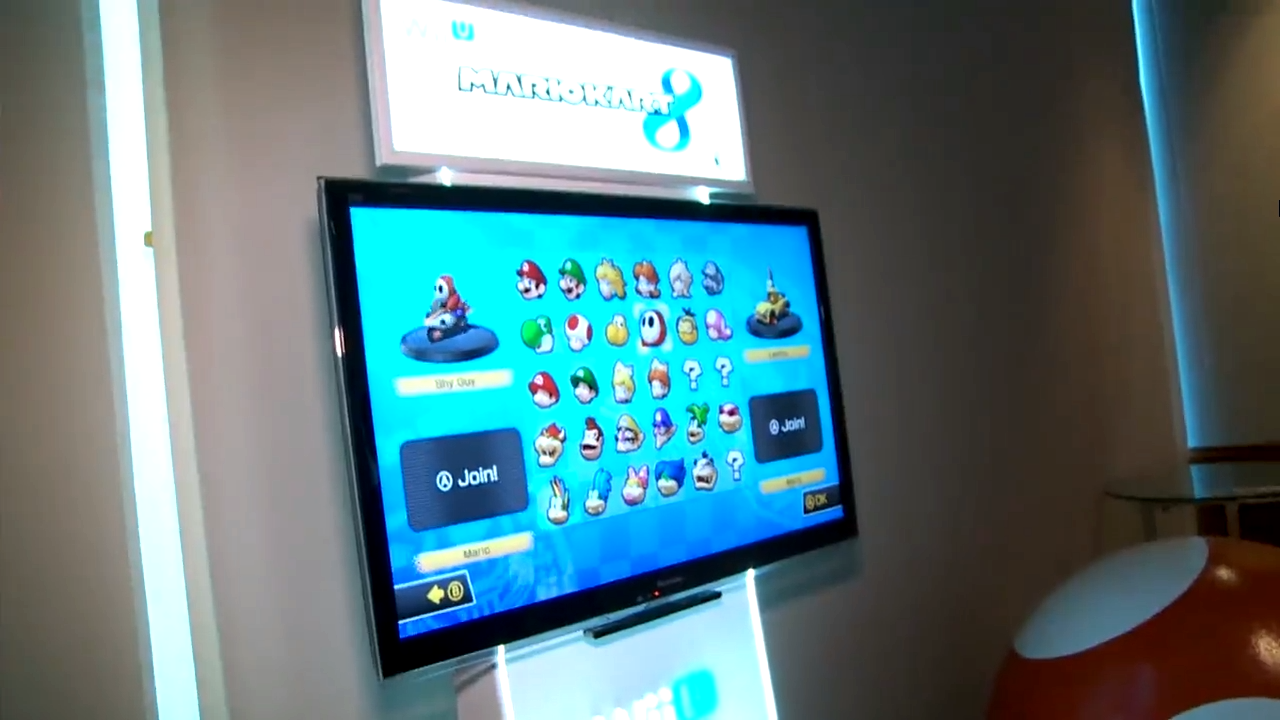 Mario Kart 8 Character Select Screen Revealed Mario Party Legacy