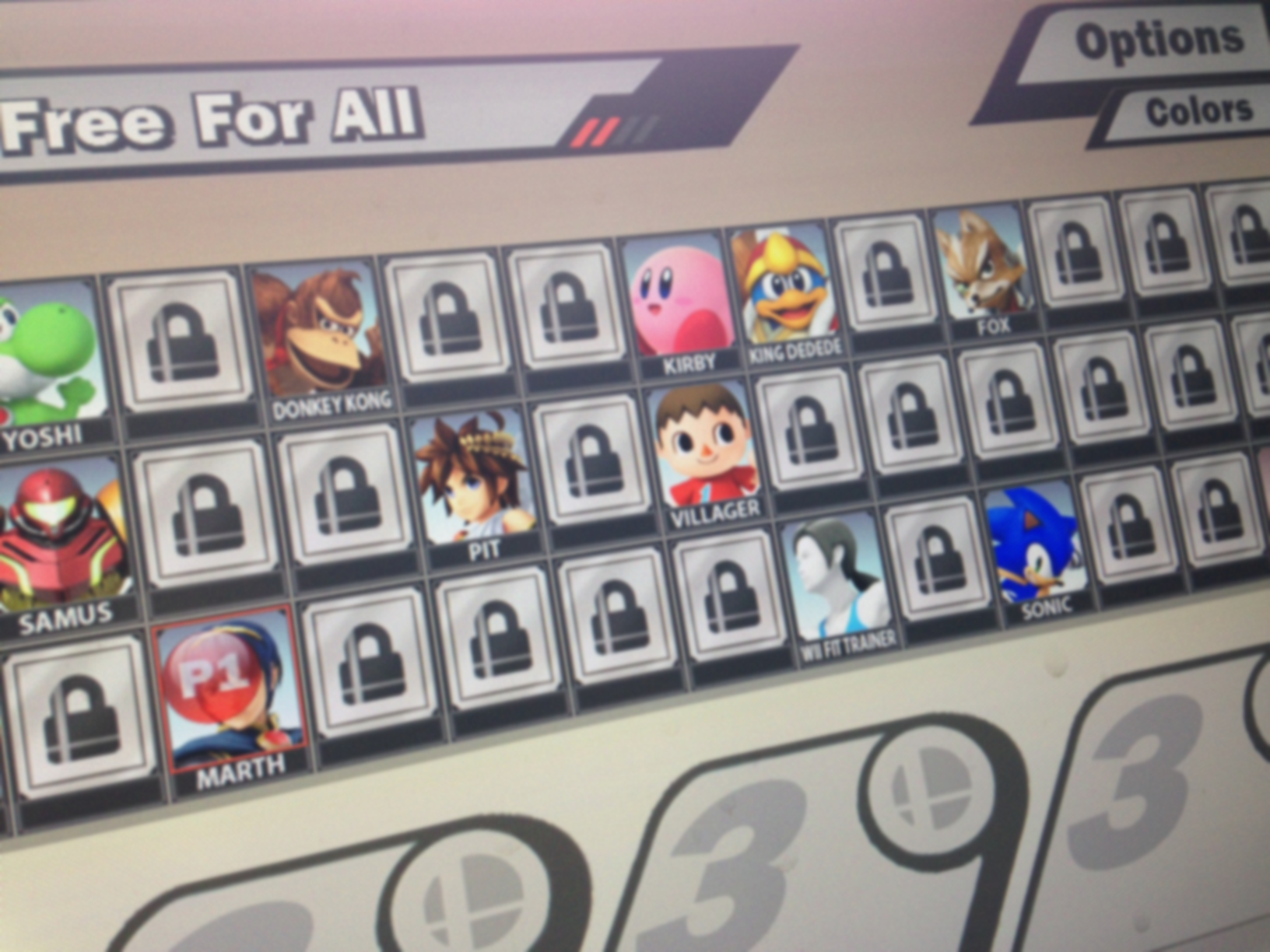 character select for smash bros causes fan meltdown fake