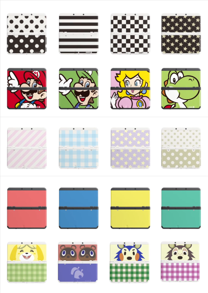 New 3DS Firmware to Add Menu Themes, Face Plates Announced 3dsfaceplates-426x600
