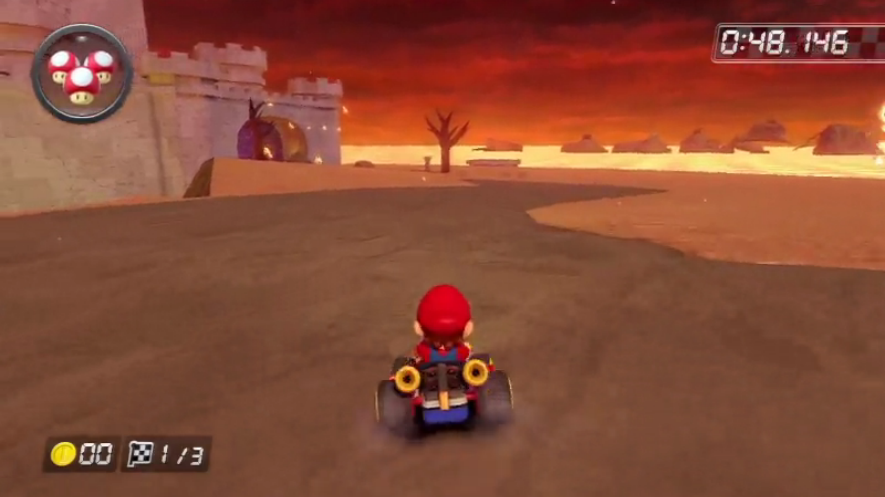Take A Look At The Very First Mario Kart 8 Custom Track Mario
