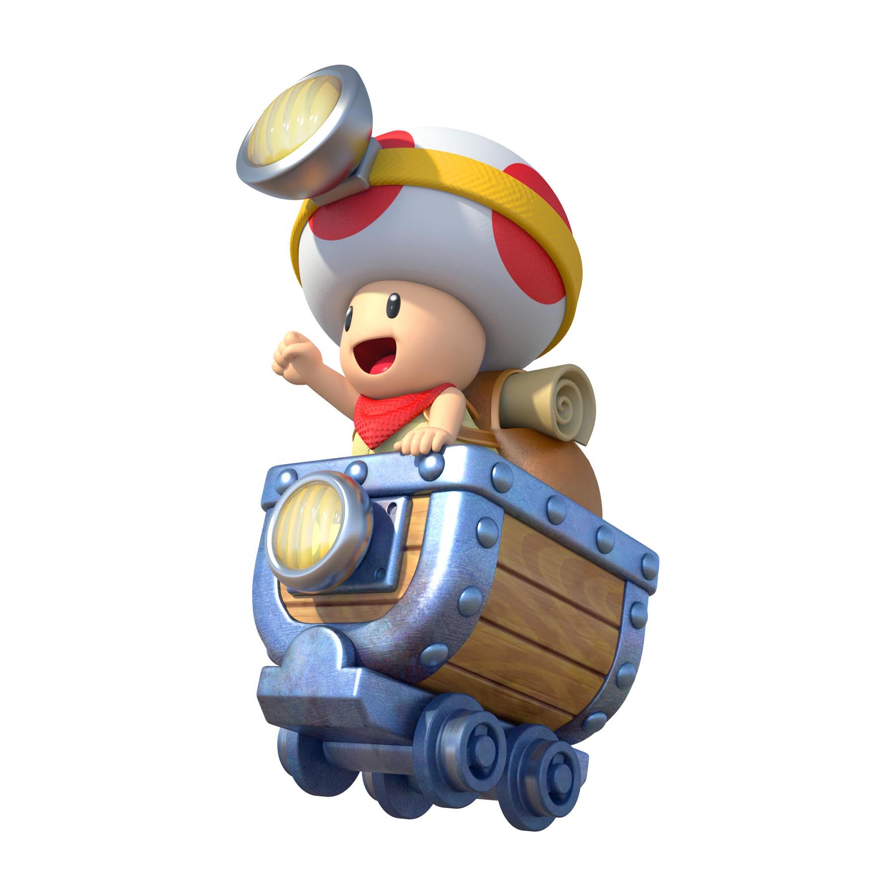 More Artwork From The Upcoming Captain Toad Treasure