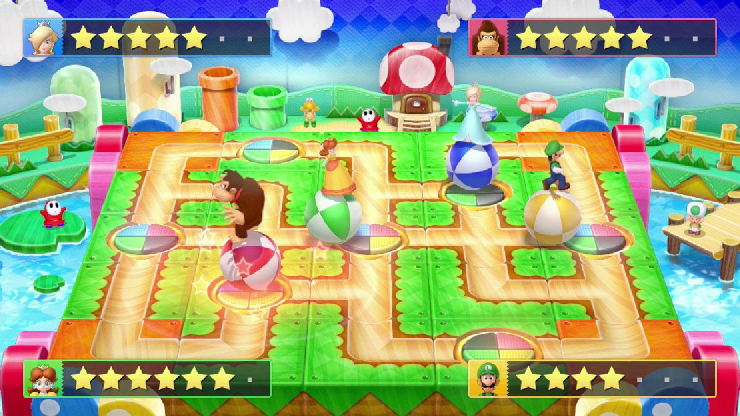 New Batch of Mario Party 10 Screens, Toadette Playable ...