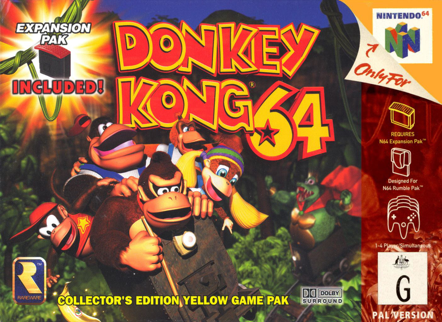 How far are you in Donkey Kong 64?