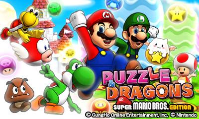 Puzzle & Dragons: Super Mario Bros. Edition Out In North America