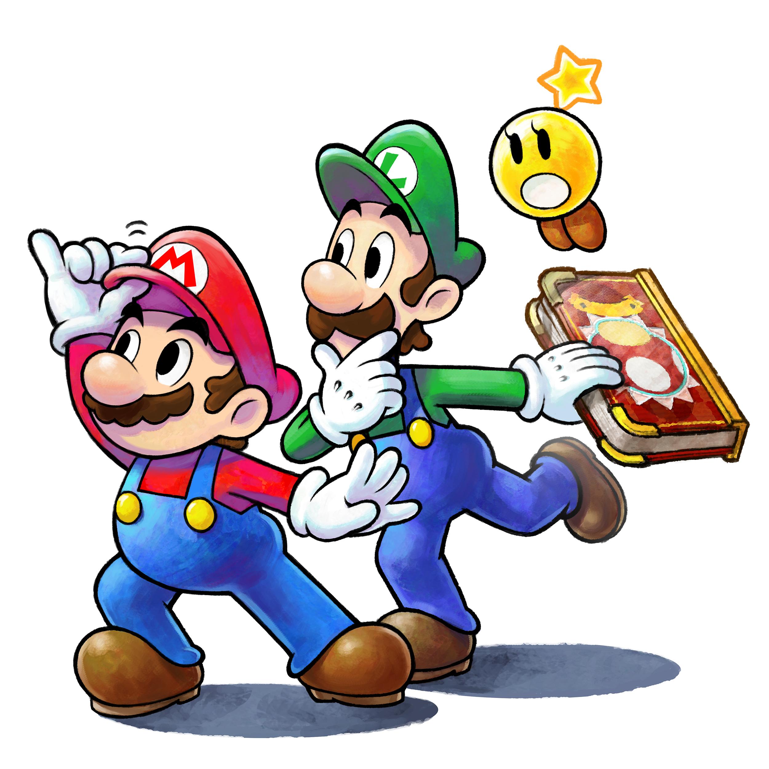 Watch an Hour of Mario & Luigi: Paper Jam Footage