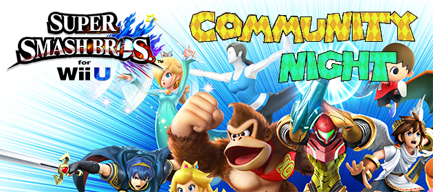 MPL Community Night – Super Smash Bros. for Wii U/3DS
