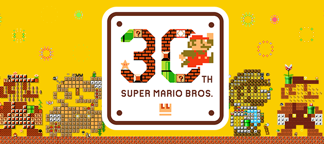 The Month of Super Mario's 30th Anniversary Begins!