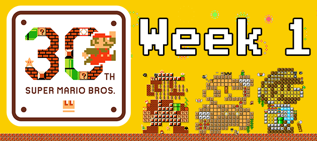 The Month of Mario: Week 1