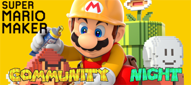 MPL Community Night – Super Mario Maker