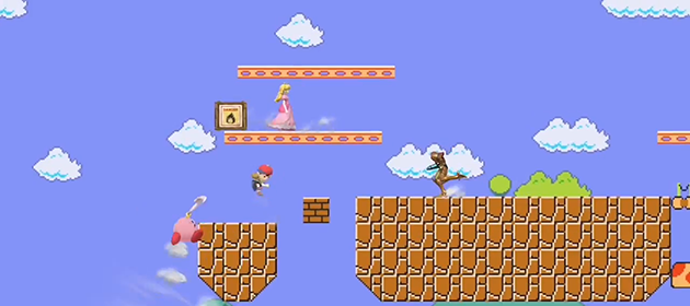 Super Mario Maker Stage Coming to Super Smash Bros.