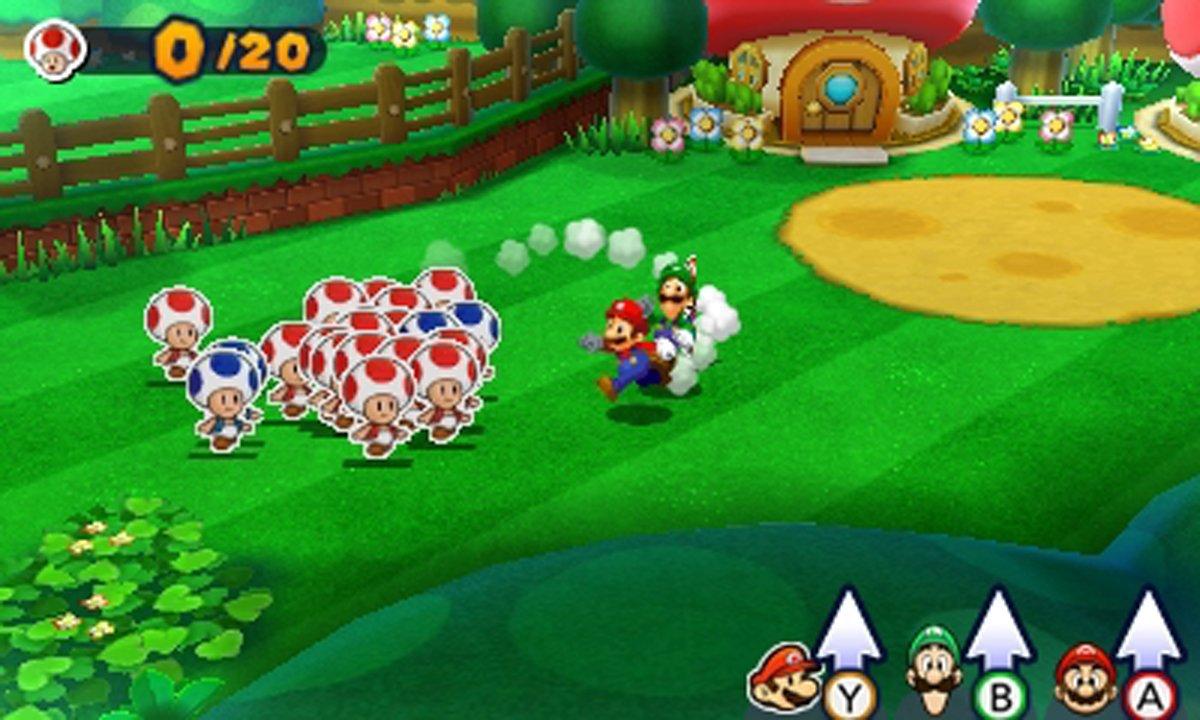 Games Mario Luigi Paper Jam