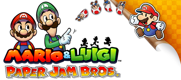 Mario & Luigi: Paper Jam Set to Release in December in Europe