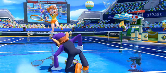 New Mario Tennis: Ultra Smash Trailer Finally Released